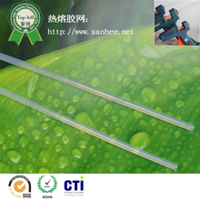 Environmentally friendly transparent silicon hot melt glue stick