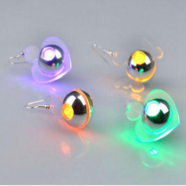 Best party item 3 flashing mode Led earring earring/ light up led earrings
