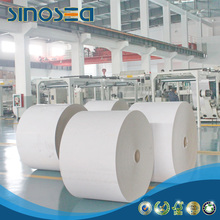 Duplex paper white back package usage in roll or reem from china mill