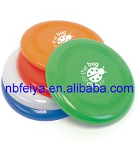 9 inch round plastic flying disc