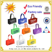 2014 best sale large colorful Non-Woven Gift Tote