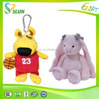 Cheap Husky Dog keychain plush toy for sale