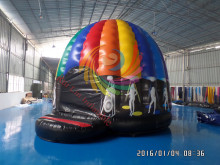 Hot Cheap Inflatable Disco Dome & Jumping Bouncer for Adult