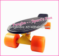 "Custom Penny Nickel Skateboard 27"" with Alumimun truck and flash wheels"