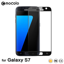 Full Cover Touch Screen Glass Film For Samsung S7 Edge Tempered Glass Screen Protector Film