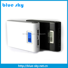 High capacity 6000mah power bank external power tube for digital products