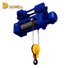 1ton electric hoist with manual trolley