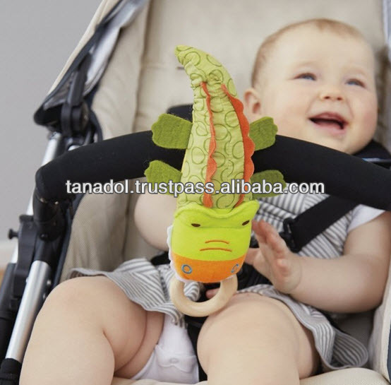 Baby Soft Toy Crocodile Rattles Cute!!!
