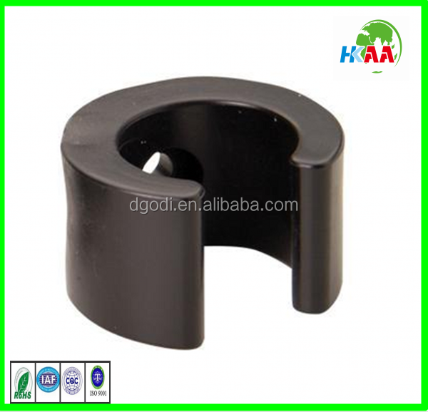 Round steel nail plastic cable clip hanroot plastic wall nail nylon cable clips