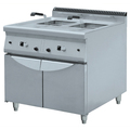 BN900-G801 Commercial Double Basket Potato Chips Fryer Machine