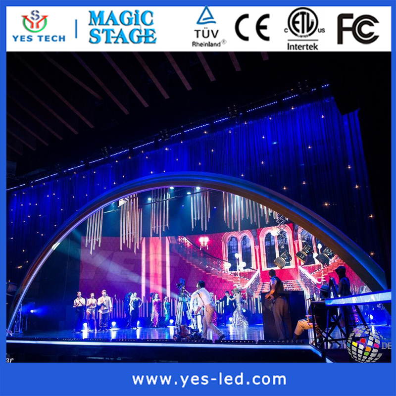 promotional hd video p8mm rental led screen