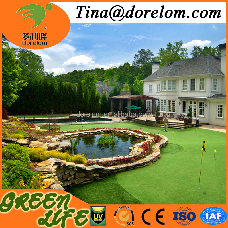 high quality outdoor artificial leisure grass synthetic grass for