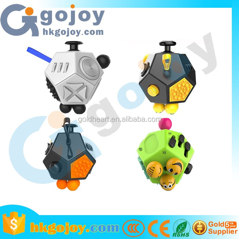 2017 innovative product ideas fidget cube toy anxiety attention stress relief for children and adults