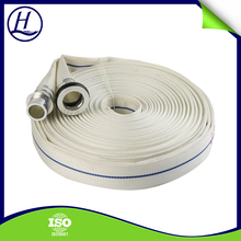 Professional Insulation Synthetic Rubber Lining Blue Or White Fire Fighting Hose