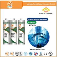 Adhesive To Fish Glass Aquarium Silicone Sealant