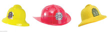 wholesale Plastic toy fireman hat safety helmet toys firefighter hat girfts HT5532