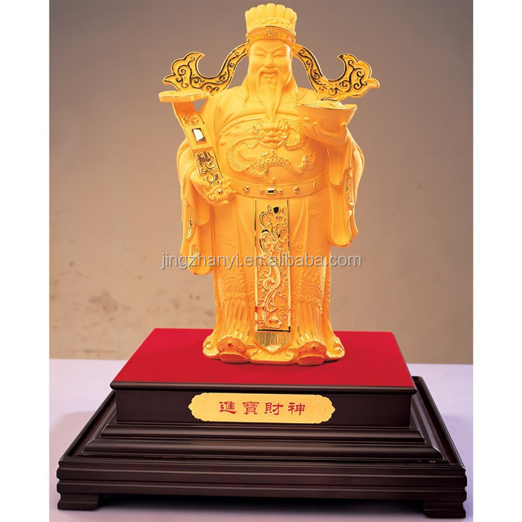 life size statues , large brass statues, gold plated statues