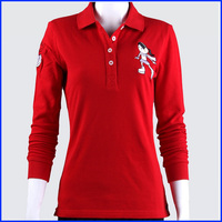 China factory polo shirts design embroidered polo shirts logo dri fit long sleeve shirts wholesale
