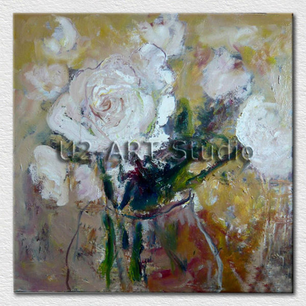 Canvas art <strong>decorative</strong> abstract flower pictures for bedroom