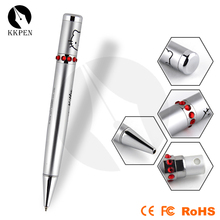 KKPEN Perfume Pen Unique design Printing custom pattern PU leather Ballpoint Pen with Atomizer for Cosmetic Products Gifts
