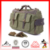 Vintage Canvas Leather Shoulder School Military Messenger Bags