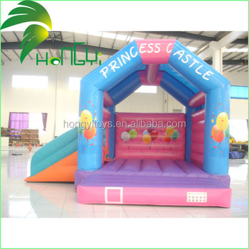 Cheap Custom Small Indoor Inflatable Bouncer With Slides For Kids