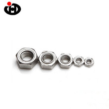 Chinese Fastener Manufacturer Bolt Nut Products Hex Weld Nut JISB1196 M4 Nuts