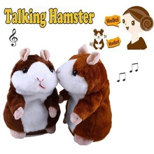 Voice Recording Talking Hamster Repeats Lovely Plush Talking Hamster toys for kids