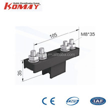 Isolating section for W24 single pole busbar