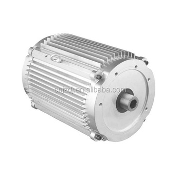 Pure electric vehicle driving motor