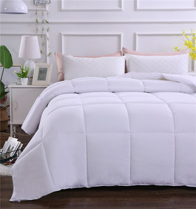 Wholesale Cheap Machine Made 100% Cotton 233TC Down proof Fabric Comforter