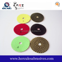 granite diamond polishing pads/3m wet polishing pads for granite