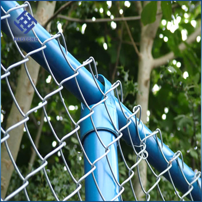 30 Years' factory supply fence plastic cover chain link fence