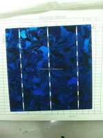 color polycrystalline solar cell 156X156