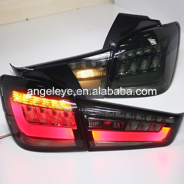 FOR Mitsubishi OUTLANDER SPORT ASX RVR LED Tail Light Rear Lamp Black Color 2012-2014 Year YZV2
