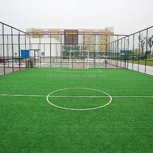 Fibrillated High quality artificial turf for mini soccer football field