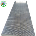 Mirror Five Bars Embossed Aluminum Sheet / Coil For Tread Plate