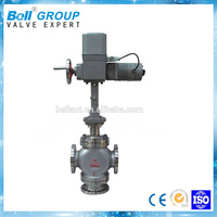 3 way on-off type cast steel 220V one inlet two outlet valve