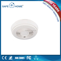 Factory directly offer!Photoelectric gsm smoke detector alarm with 5 groups auto dial&5 SMS numbers