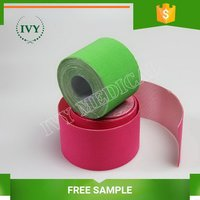 Best quality OEM sport muscle tape self sticking bandage