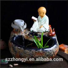 2014 China Supplier hot new products resin water fountains wholesale small decorative water fountains