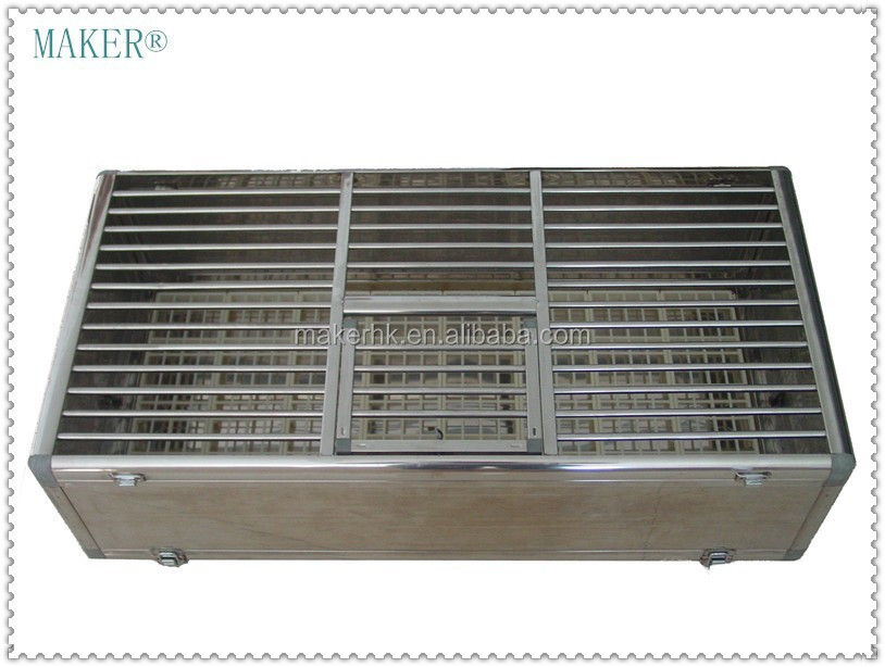 MAKER Stainless steel foldable Cage for Pigeon