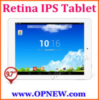 9.7 inch Retina IPS tablet pc 2048*1536 RK3188 4G RAM 64GB ROM Android Camera MP5.0 Build-in Bluetooth Wifi Tablet PC