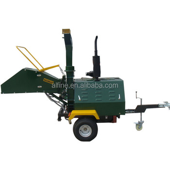 China manufacturer good quality diesel wood chipper