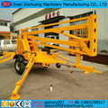 8-20m Outdoor pickup truck boom lift / trailer mounted boom lift for sale