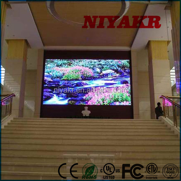 Niyakr Digital Led Wall Clock 2015 New Prodcut Indoor Led Display Big Xxx Video