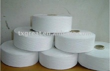 OE 70%cotton 30%polyester bleached white recycled yarn