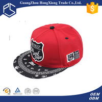 Cool unisex cheap custom embroidered snapback cap indian style hat