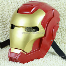 Collective edition Halloween party CS Red Resin Iron Man 3 Masks with pretty gift box