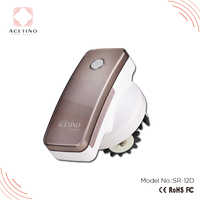 Relax anti cellulite body fat roller with interchangeable heads portable Fat reducing body massager